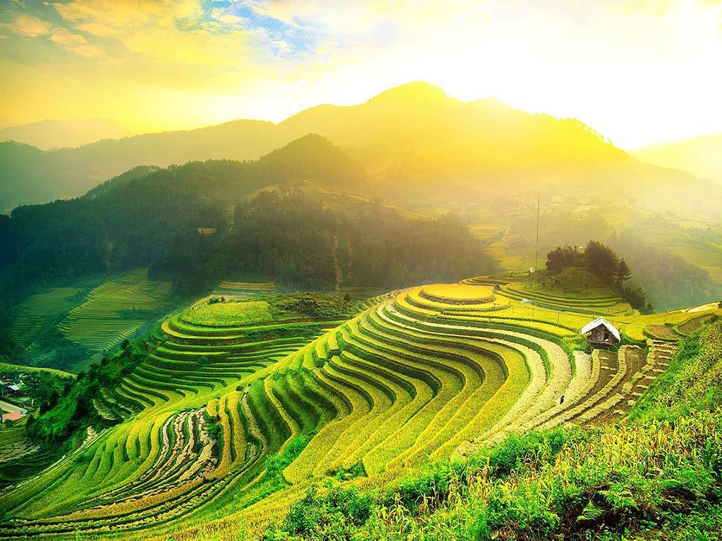 Mùa nước đổ ở Hà Giang